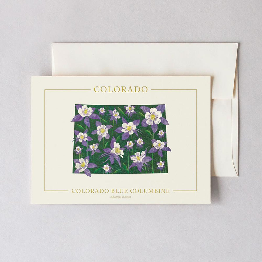 Colorado Native Botanicals Greeting Card