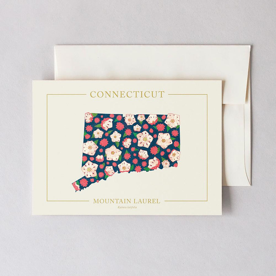 Connecticut Native Botanicals Greeting Card