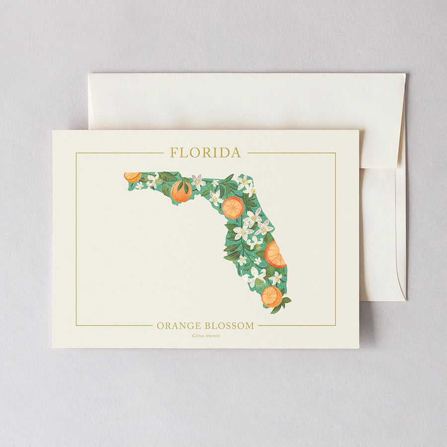Florida Native Botanicals Greeting Card