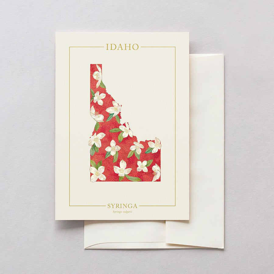 Idaho Native Botanicals Greeting Card
