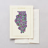 Illinois Native Botanicals Greeting Card