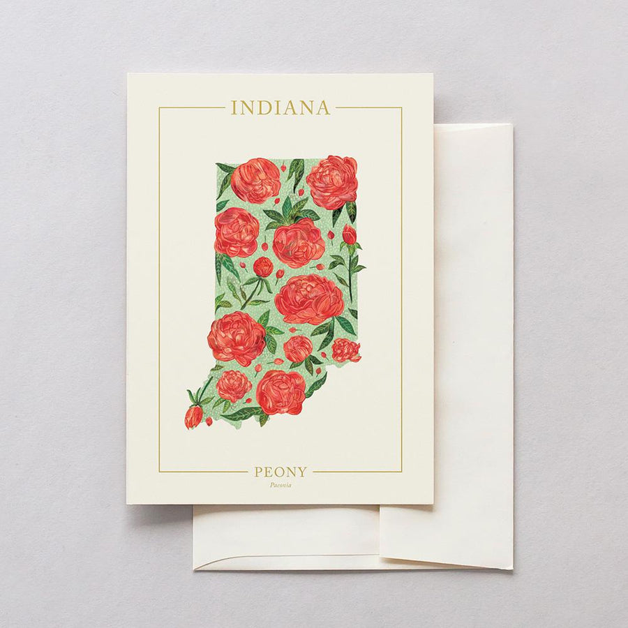 Indiana Native Botanicals Greeting Card