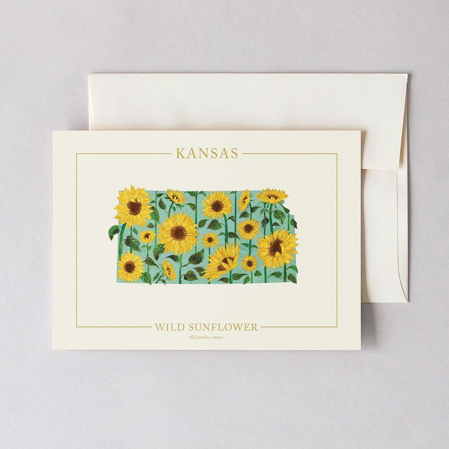 Kansas Native Botanicals Greeting Card