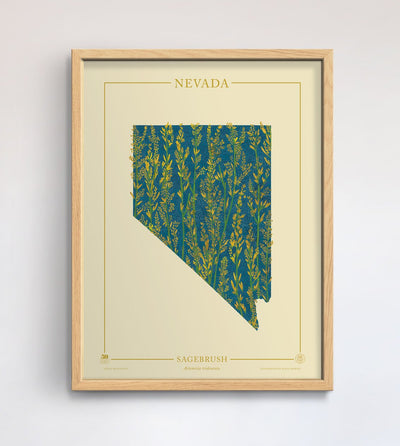 Nevada Native Botanicals Print