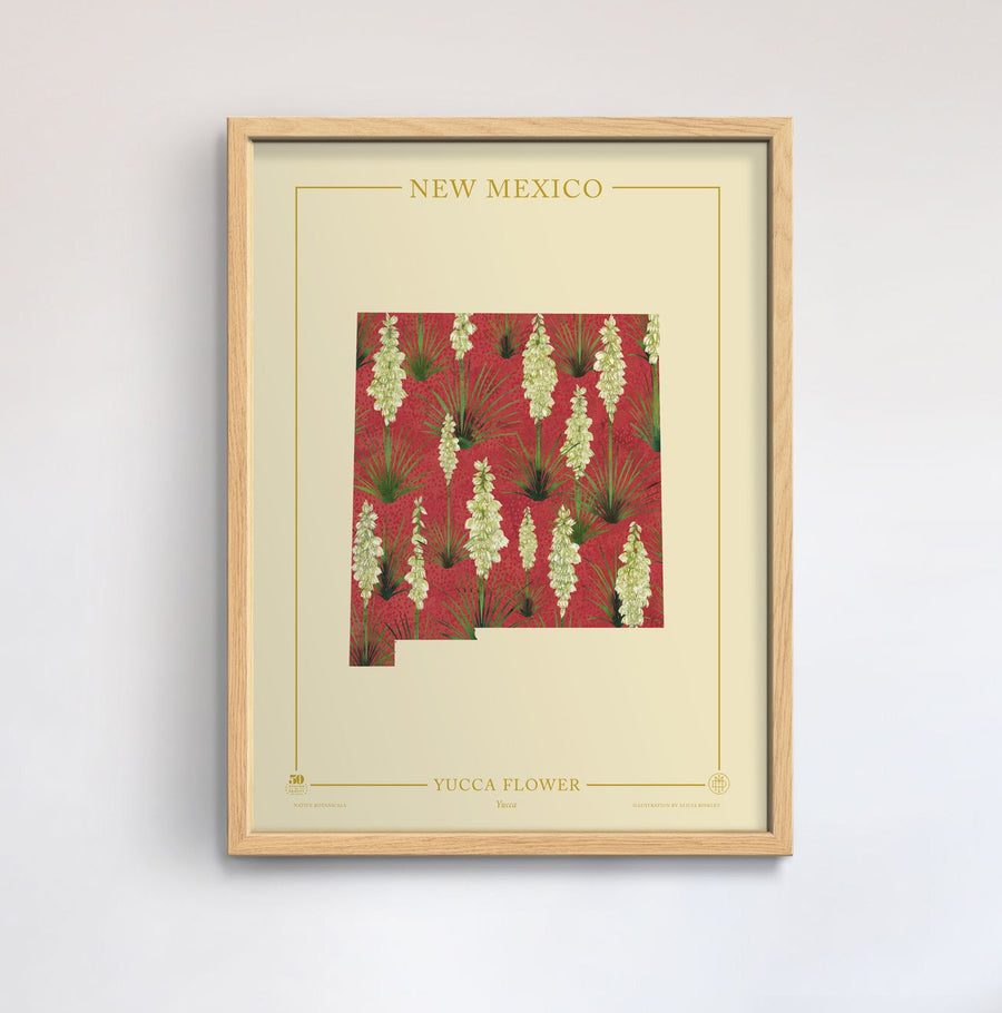 New Mexico Native Botanicals Print
