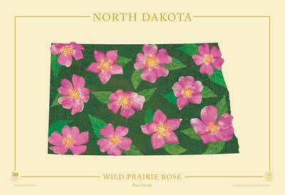 North Dakota Native Botanicals Print