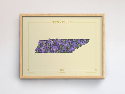 Tennessee Native Botanicals Print