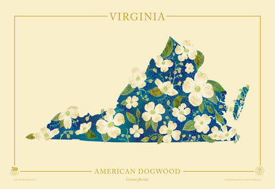 Virginia Native Botanicals Print