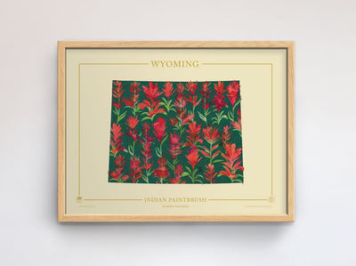 Wyoming Native Botanicals Print