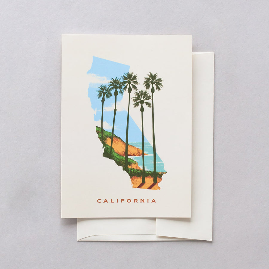 California Best Coast Greeting Card