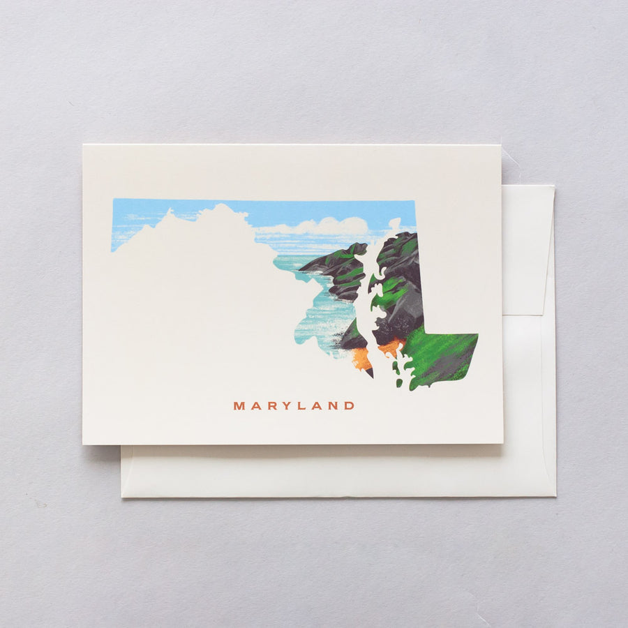Maryland Greeting Card