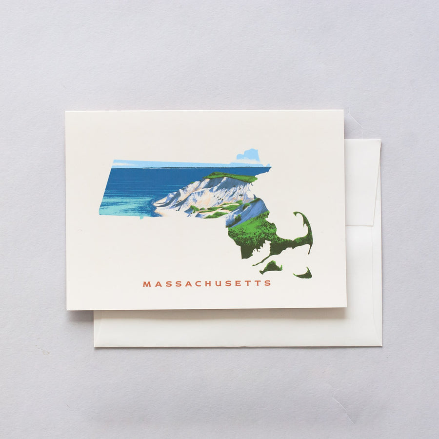 Massachusetts Greeting Card