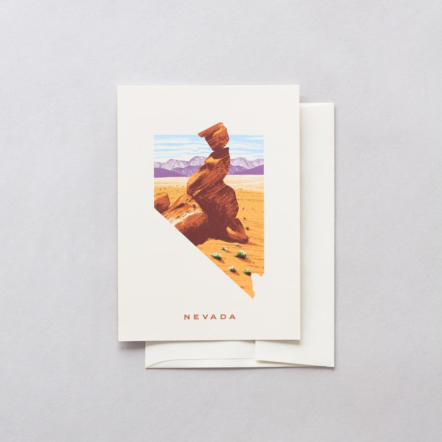 Nevada Valley of Fire Greeting Card