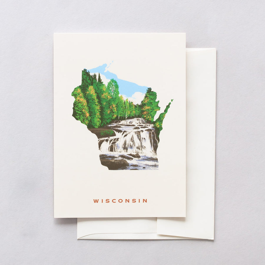 Wisconsin Greeting Card