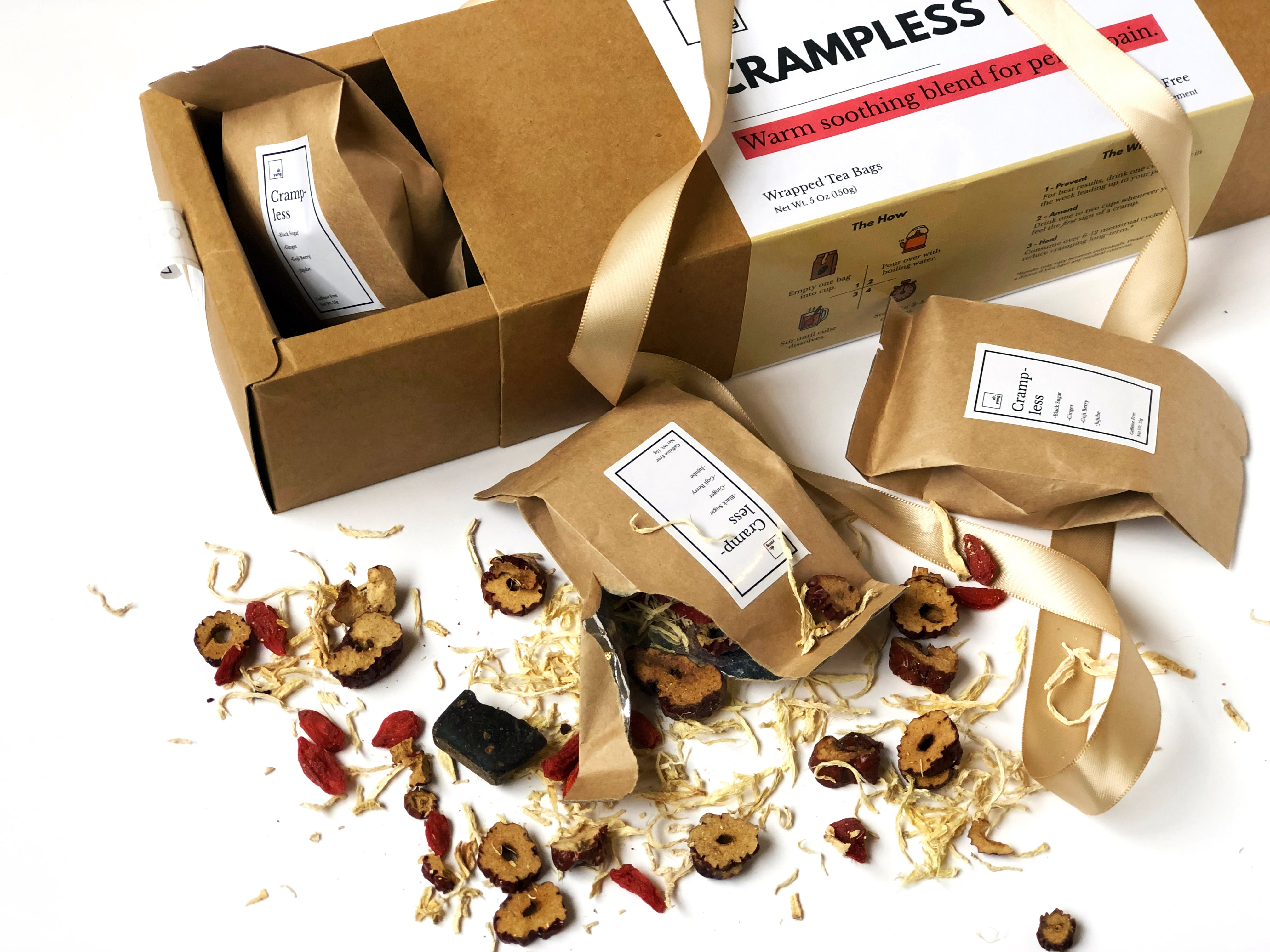 Crampless Tea One-Month Pack (7 Tea Bags)