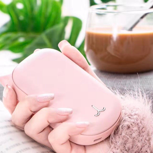 Portable Uterus & Hand Warmer - Coral Pink