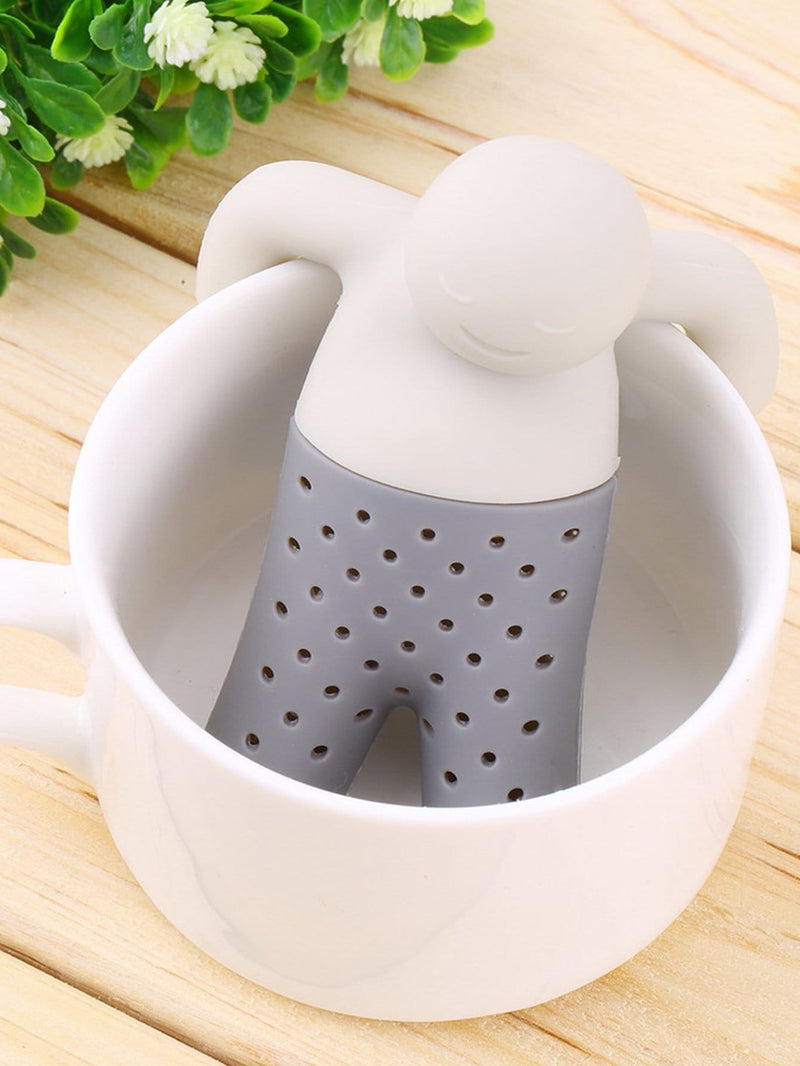Silica Gel Figure Tea Filter 1pc
