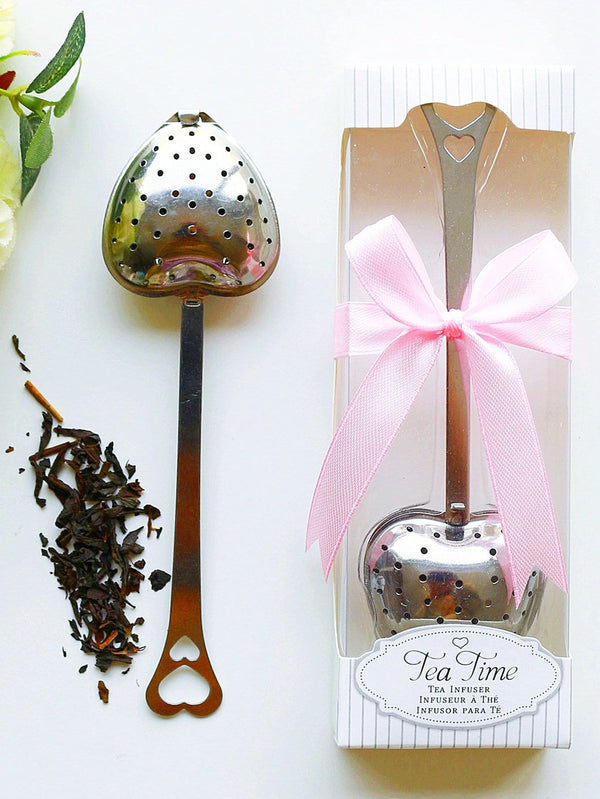 Heart Shape Tea Strainer 1pc