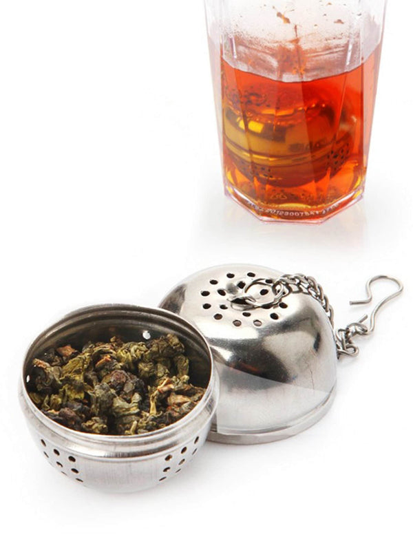 Stainless Steel Round Tea Drain Ball