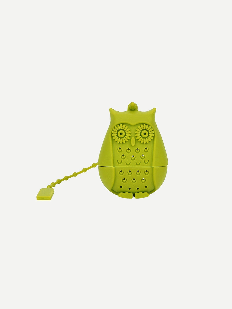 Owl Design Tea Strainer