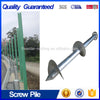 Hardware Helical Screw Piles for Greenhouse,Fence & Solar