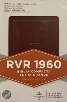Image of Biblia RVR 1960 Compacta Marron