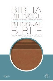 Biblia Bilingue/Bilingual Bible New King James Version