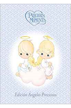 Biblia Precious Moments Angeles - Td Azul