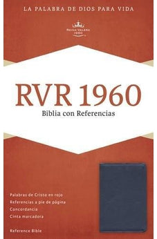 Rvr 1960 Reference Bible, Sapphire Blue, Imi Lt