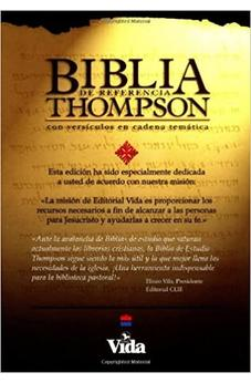 Image of Biblia RVR 1960 de Estudio Thompson Piel Negro