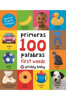 First 100 Words / Primeras 100 Palabras - Bilingual (small padded edition)