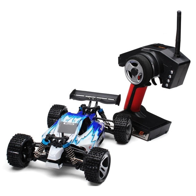 RC Car WLtoys A959 2.4G 1/18 Scale Remote Control Off-road Racing Car High Speed Stunt SUV Toy Gift For Boy RC Mini Car RTR