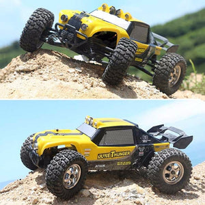 New HBX 12891 1/12 4WD 2.4G Waterproof Hydraulic Damper RC Desert Buggy Truck with LED Light RC Car Toys