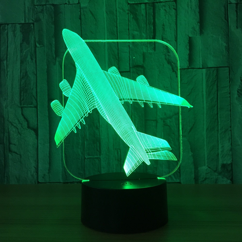 Air Plane 3D Light