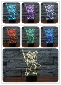 Star War 3D LED