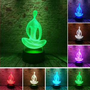 Yoga LED Meditation Light