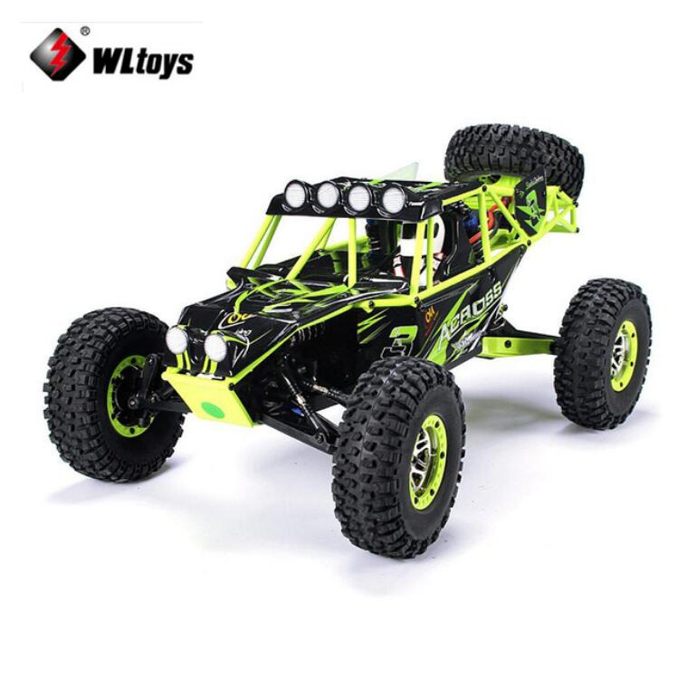 WLtoys 10428 1:10 RC Car 2.4G 4WD Electric Brushed Rock Crawler RTR SUV Remote Control Off-road veicoli Model Toy Vehicles