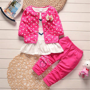 LONSANT Kids Baby Girls Outfit