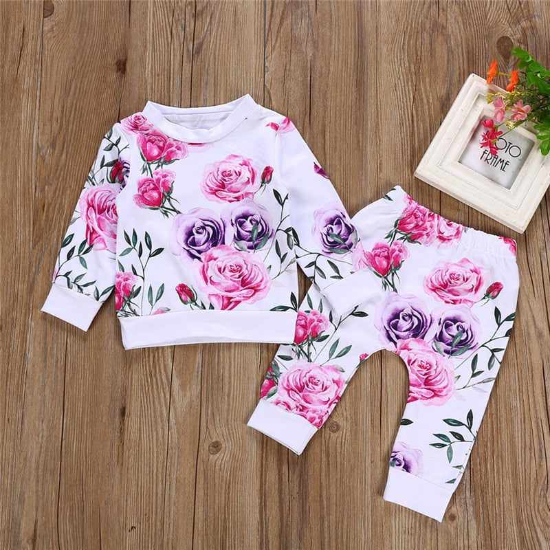 Floral full sleeve O-Neck