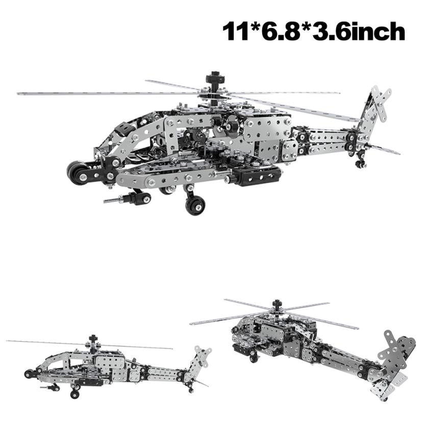 Military Helicopter Model Building Kits