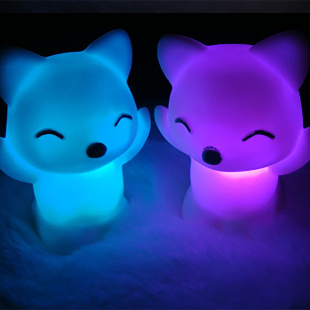 LED Fox Night Light