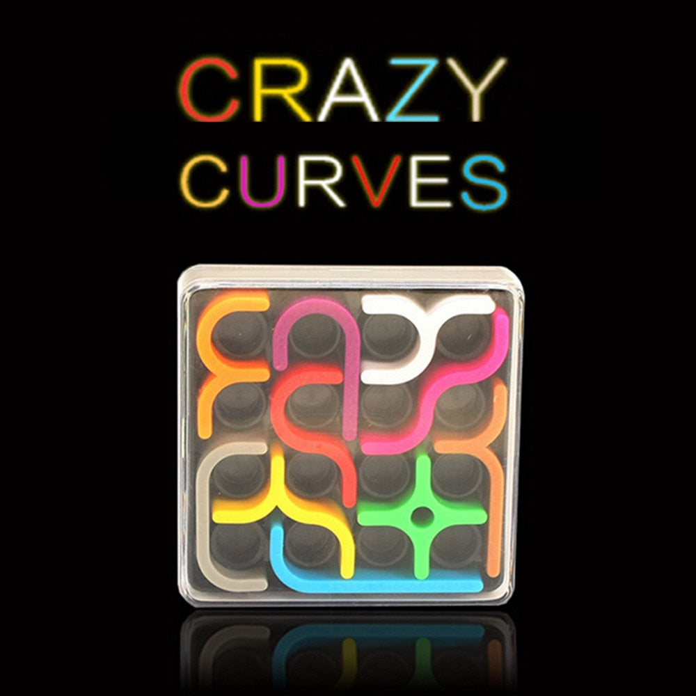 Crazy Curves Creative Puzzle