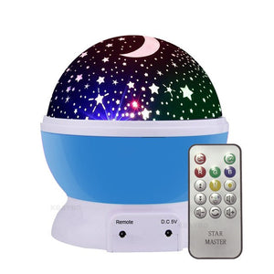 LED Rotating Star Projector