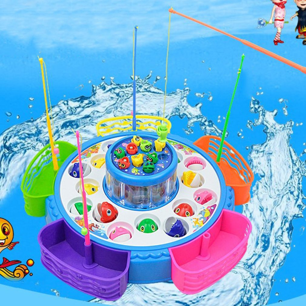 Creative Double Layer Fishing Game