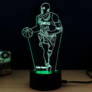 Table Desk Light 3D Acrylic