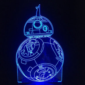 3D Night Light Star Wars
