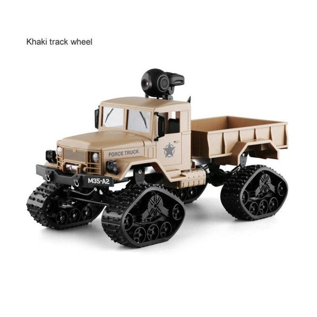 Military RC Truck With WIFI Camera