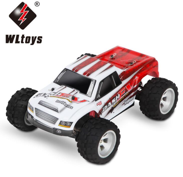 WLtoys A979-B 4WD 1/18 High Speed Monster Truck 1:18 RC Car Really fast, 70km/h with Transmitter With Battery RTR Remote Control Toys