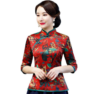 4472708025a1 Traditional Chinese Tops   Dress - Women – essentials4yu