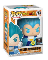 Vegeta Powering Up
